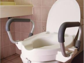 ALZA WC INCLINABLE Y REPOSABRAZOS ABATIBLES U
