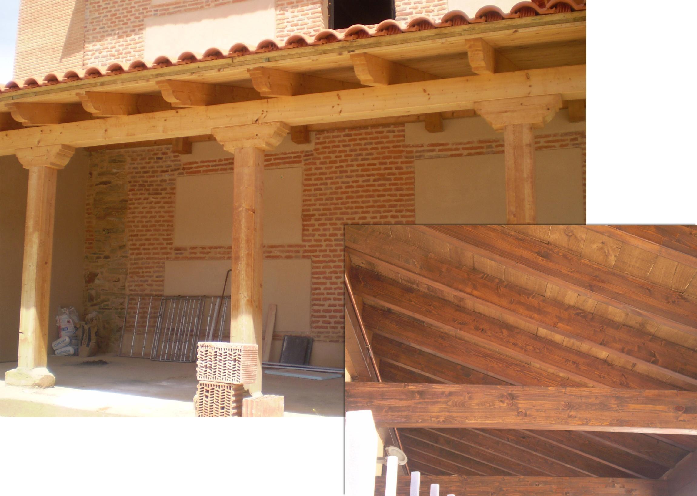 Estructuras de madera para tejados cheap estructura para cenador with estructuras de madera - Estructuras de madera para tejados ...