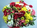 Ramo de flores variadas con mucho colorido