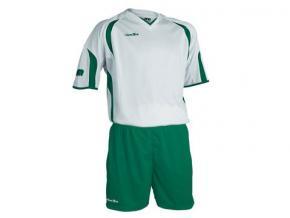 equipación fútbol jemsz silver blanco/verde