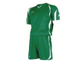 equipación fútbol jemsz silver verde / blanco