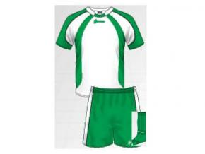 Equipación de fútbol Marina blanco/verde