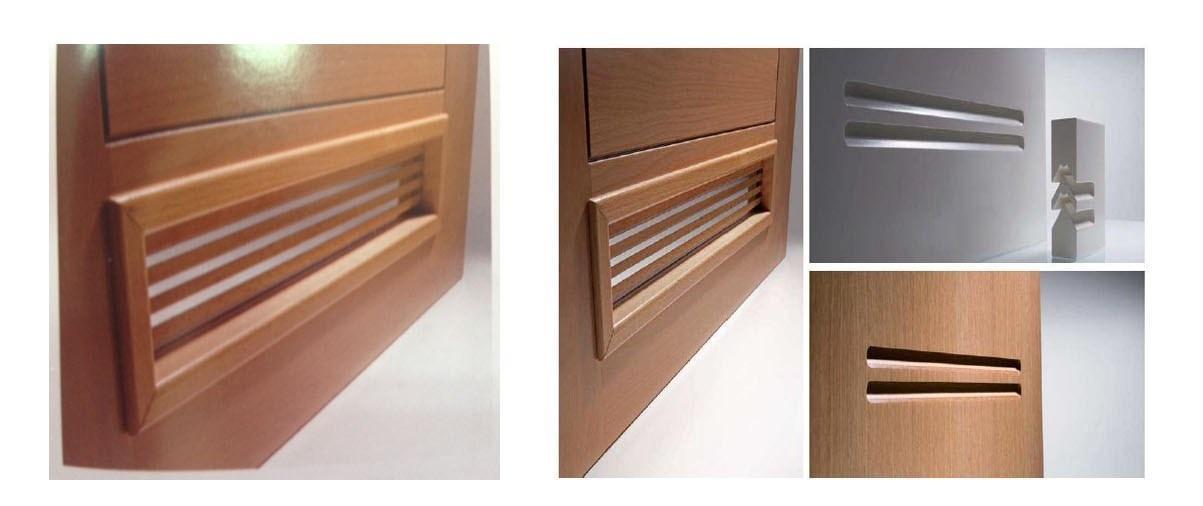 Puertas con rejillas de ventilacion materiales de - Rejilla ventilacion bano ...