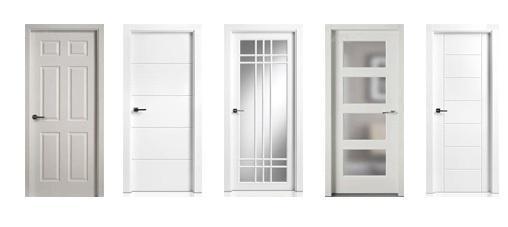 Puertas de interior lacadas en blanco good puerta lacada - Puertas dm lacadas blanco ...