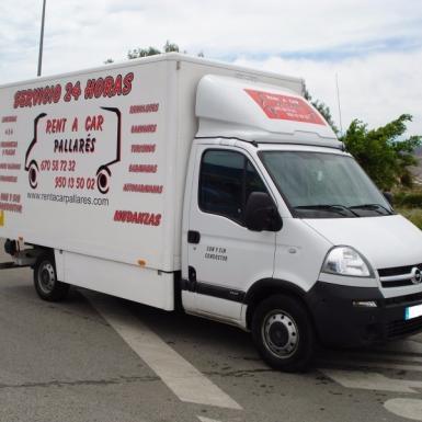Alquiler camion almeria