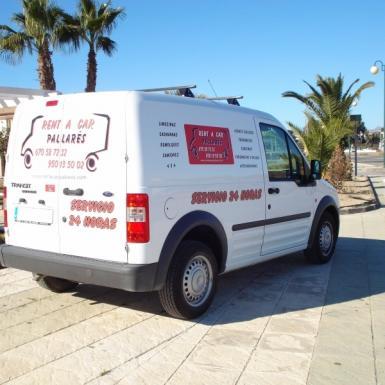 Alquiler de furgonetas sin conductor en el ejido