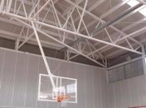 2 Canastras Baloncesto Colgantes monotubo motorizadas taboleiros lynx Foam e aros macizos