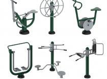 Pack biosaudable 6 elementos  (Bicicleta, Cabalo, Timon, Andador, Cintura e Masaxe)
