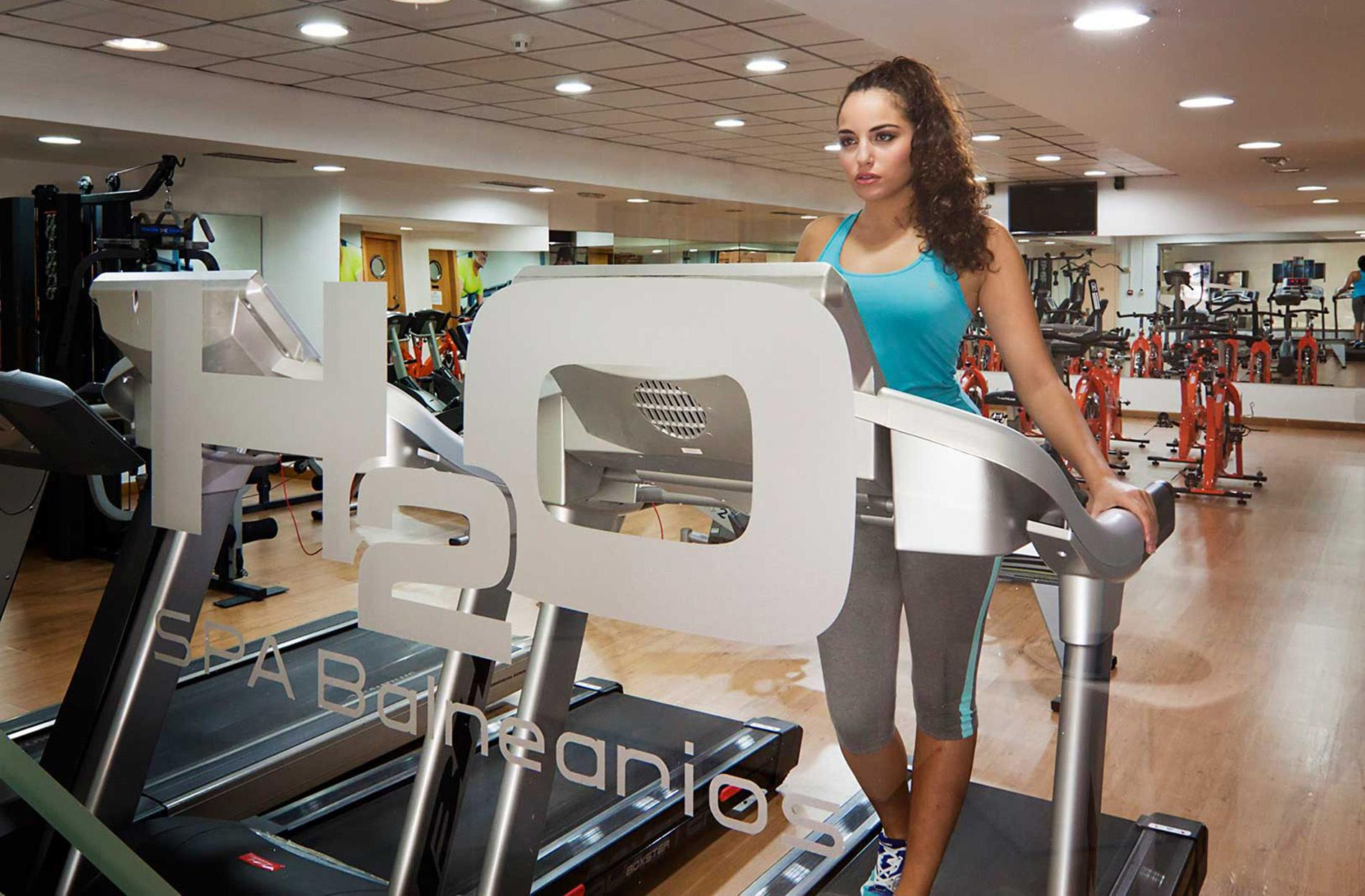 h2o balnearios spa gimnasio fitness hotel meli sevilla