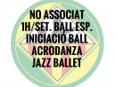 NO ASSOCIATS 1H./SETMANA BALL ESPORTIU QUOTA ANUAL