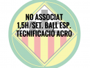 NO ASSOCIATS 1,5H./SETMANA BALL ESPORTIU QUOTA ANUAL