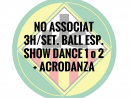 NO ASSOCIATS 3H./SETMANA BALL ESPORTIU QUOTA ANUAL