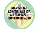 NO ASSOCIATS 3,5H./SETMANA BALL ESPORTIU QUOTA ANUAL