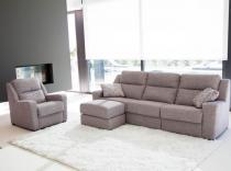 Sofá 3 pl. + sillón