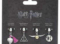 Harry Potter - Set 4 colgantes charm surtidos