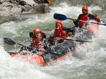 Canoas de río en Llavorsí