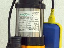 Bomba aguas  0,24 HP hasta 7 metros, caudal máximo 8 m3/h - Mod. V180F