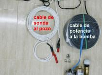 30 metros 2100 litros/hora 0,5 HP (Kit 2) kit bomba de pozo