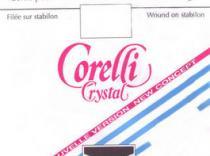 Corda Corelli Cristal Viola 3ª