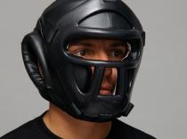 CASCO NEGRO PROTECCION FRONTAL
