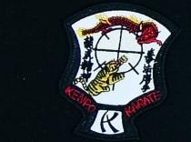ESCUDO BORDADO KENPO KARATE