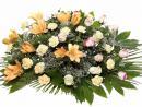 Palma 12 Rosas,Liliums,Claveles,Paniculata