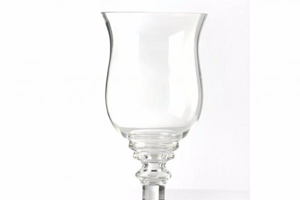 alquiler de jarrn de cristal con pie cm alto