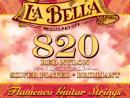 Juego de Cuerdas Flamenco La Bella Roja 820