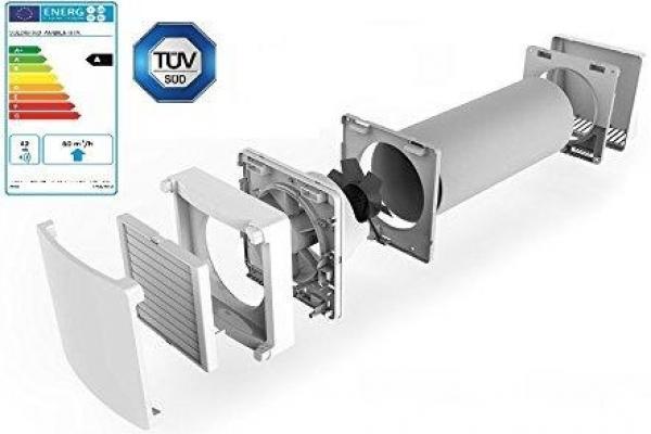 Venta campana cocina filtro carbon electrostatico - Ventilacion mecanica controlada ...