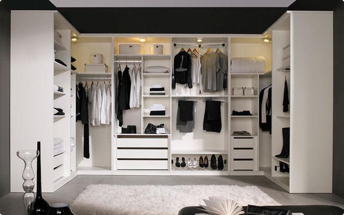 armario vestidor sin puertas - Vestidor Abierto