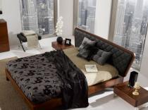 Dormitorio de matrimonio de chapa natural