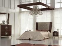 Dormitorio de matrimonio tallado