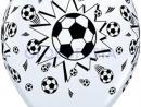 Globo de látex Fútbol