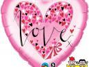 Globo Corazón LOVE