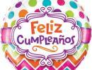 Globo Felíz Cumpleaños