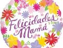 Globo 'Felicidades mamá'