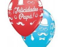 Globos 'Felicidades Papá'