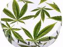 Caja Click Clack 5.5cm Marihuana Leaf 2