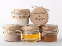 Mermeladas y mieles miniatura bodas