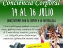 Conciencia Corporal del 14 al 16 de Julio.