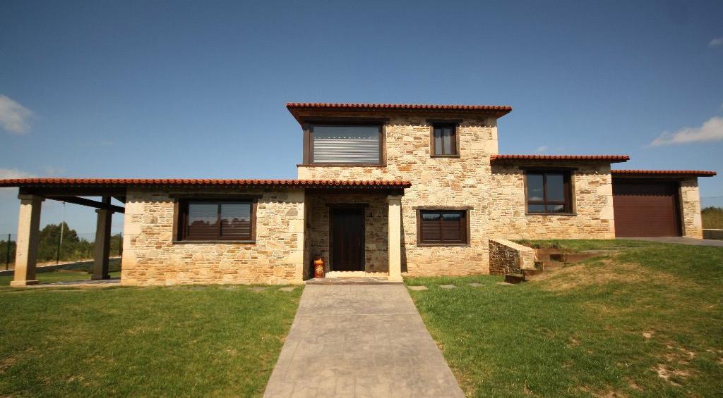 Construcciones r sticas especializados en vivienda r stica - Casas de piedra gallegas ...