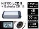 Kit Nitro LCD5 + Batería CK 48v. 11Ah