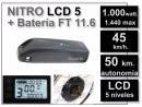 Kit Nitro LCD5 + Batería 48v 11.6Ah