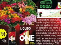 Nutriente plantas ONE