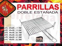 Parrilla estañada doble EL CID